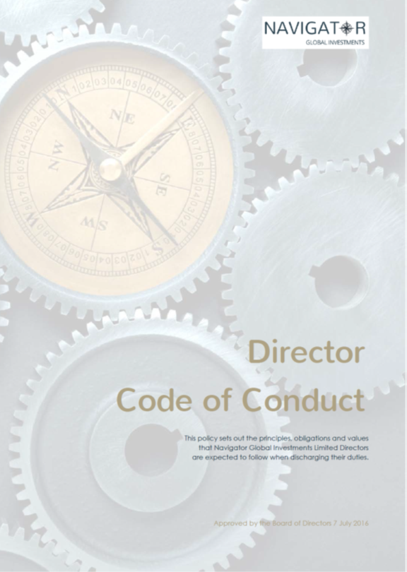Director Code of Conduct